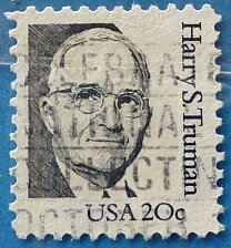 Buy Stamp USA United States of America 1984 Harry S. Truman 20c