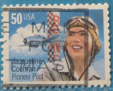 Buy Stamp USA United States of America 1996 Jacqueline Cochran Pioneer Pilot 50c