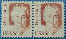 Buy Stamp USA United States of America 1983 Pearl Buck 5c Pair