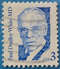 Buy Stamp USA United States of America 1986 Dr. Paul Dudley White 3c