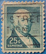 Buy Stamp USA United States of America 1958 Paul Revere (1735-1818), American silversmith