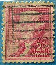Buy Stamp USA United States of America 1954 Thomas Jefferson (1743-1826), third President