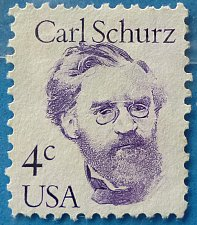 Buy Stamp USA United States of America 1983 Carl Schurz 4c