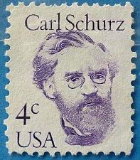 Buy Stamp USA United States of America 1983 Carl Schurz 4c