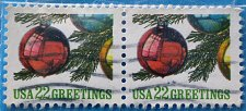 Buy Stamp USA United States of America 1987 Christmas Ornaments 22c Pair