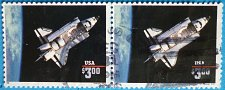 Buy Stamp USA United States of America 1995 Space Shuttle Challenger $3 Strip of 2
