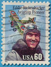 Buy Stamp USA United States of America 1995 Eddie Rickenbacker Aviation Pioneer 60c