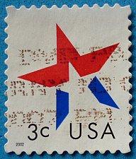 Buy Stamp USA United States of America 2002 2002 Star - Self-Adhesive 3c