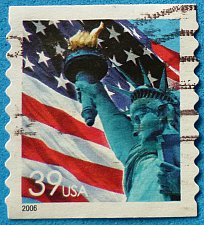 Buy Stamp USA United States of America 2006 Lady Liberty Flag - Coil Stamp 39c
