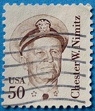 Buy Stamp USA United States of America 1985 Chester William Nimitz 50c