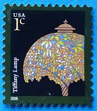 Buy Stamp USA United States of America 2008 Tiffany Lamp Self-Adhesive 1c