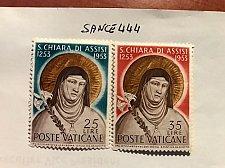 Buy Vatican City Clara of Assisi mnh 1953