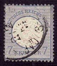Buy German Used Scott #24 Catalog Value $60.00