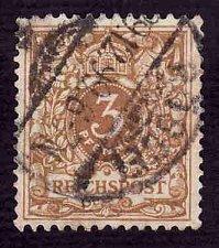 Buy German Used Scott #46a Catalog Value $1.40