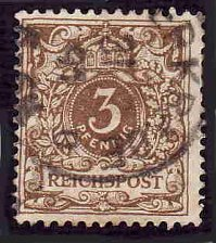 Buy German Used Scott #46c Catalog Value $8.25