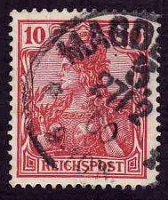 Buy German Used Scott #55 Catalog Value $.75