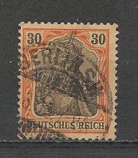 Buy German Used Scott #71 Catalog Value $.60