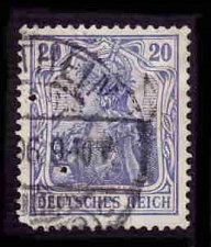 Buy German Used Scott #84 Catalog Value $1.50