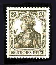 Buy German Hinged Scott #97 Catalog Value $.25