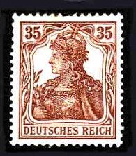Buy German Hinged Scott #101 Catalog Value $.30