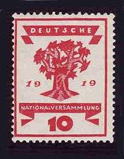 Buy German Hinged Scott #105 Catalog Value $.25