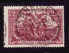 Buy German Used Scott #114a Catalog Value $2.25