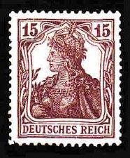 Buy German Hinged Scott #120 Catalog Value $.25