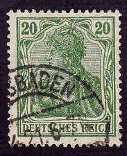 Buy German Used Scott #121 Catalog Value $2.25