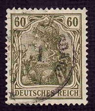 Buy German Used Scott #126 Catalog Value $1.60