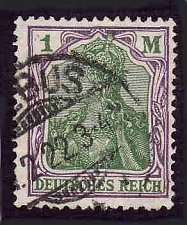 Buy German Used Scott #129 Catalog Value $2.25