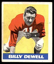 Buy Vintage 1948 Leaf #39 Billy Dewell Excellent