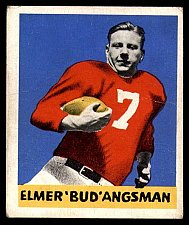 Buy Vintage 1948 Leaf #25 Elmer Angsman BL Very Good RC Rookie