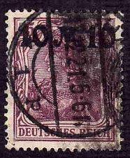 Buy German Used Scott #136 Catalog Value $2.25