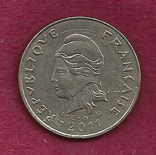 Buy FRANCE 50 Francs 2011 Coin - French Polynesia - Tropical Island