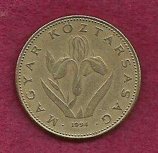 Buy Hungary 20 Forint 1994 Coin -Hungarian Iris Flower