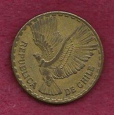 Buy Chile 10 Centesimos 1964 - Condor in Flight