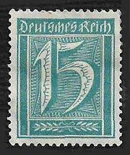 Buy German Hinged ng Scott #163 Catalog Value $.55