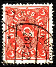 Buy German Used Scott #186 Catalog Value $1.50