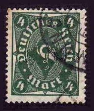 Buy German Used Scott #187 Catalog Value $1.50