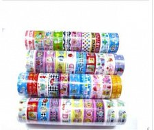 Buy 10 rolls tape scrapbooking sticker