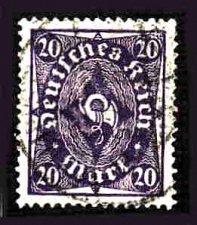 Buy German Used Scott #191 Catalog Value $1.50