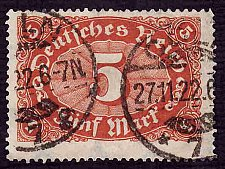 Buy German Used Scott #194 Catalog Value $1.75