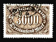 Buy German Used Scott #206 Catalog Value $1.50