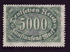 Buy German MNH Scott #208 Catalog Value $.62