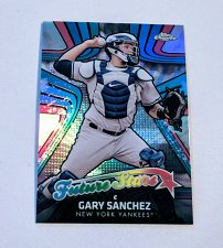 Buy MLB GARY SANCHEZ NEW YORK YANKEES 2017 TOPPS CHROME REFRACTOR RC MNT