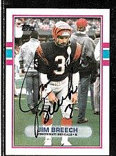 Buy 1988 Jim Breeche K, Topps card 39 Signed