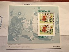 Buy Portugal Madeira Europa s/s 1981 mnh #1