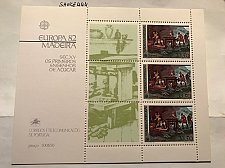 Buy Portugal Madeira Europa 1982 s/s mnh