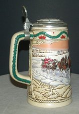 Buy CS273 1996 Budweiser Holiday Stein with Box - RS4