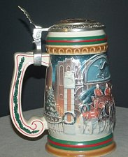 Buy CS313SE 1997 Budweiser Holiday Stein Lidded - RS5